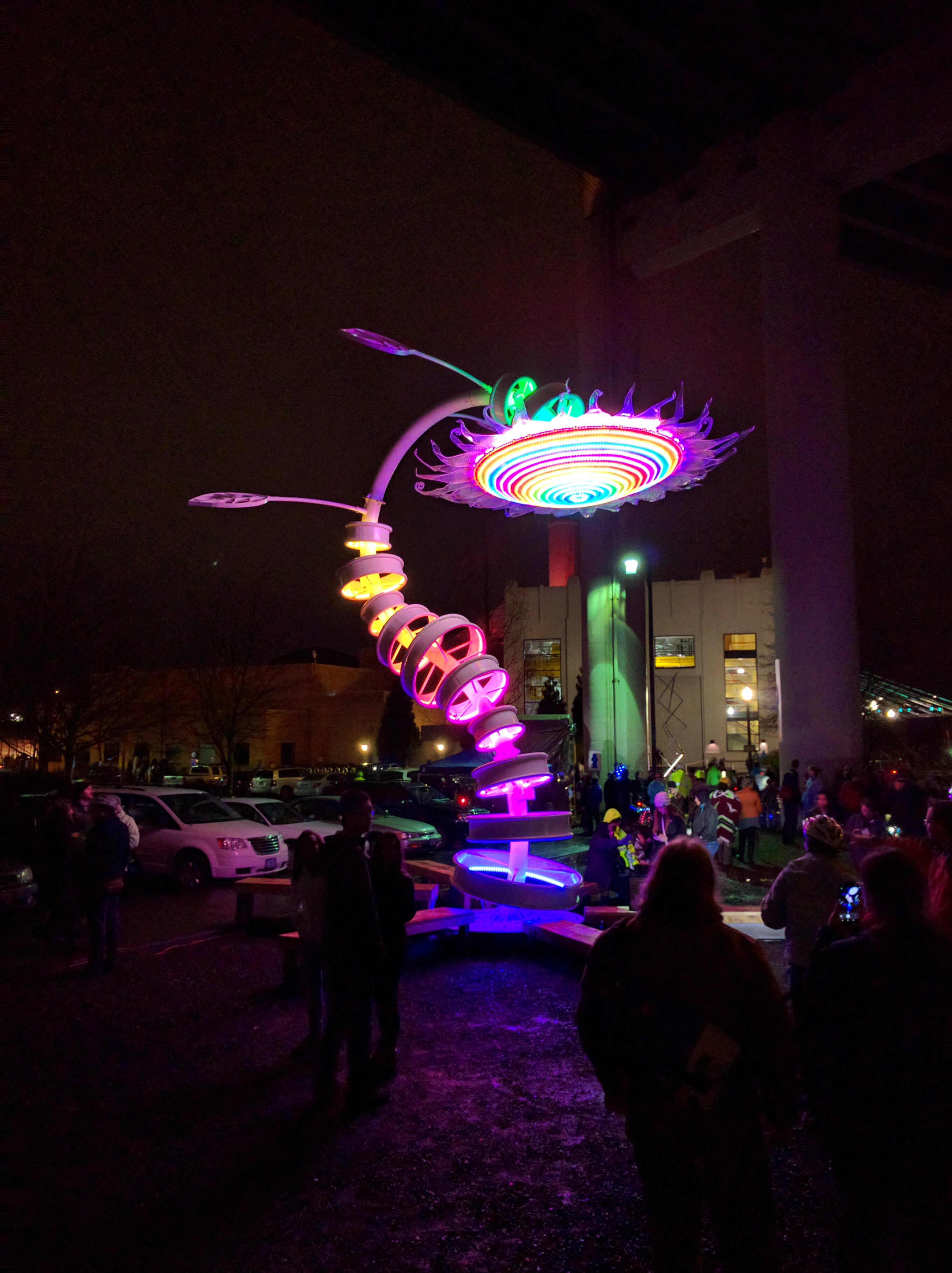 scenes from the first portland winter light festival blog