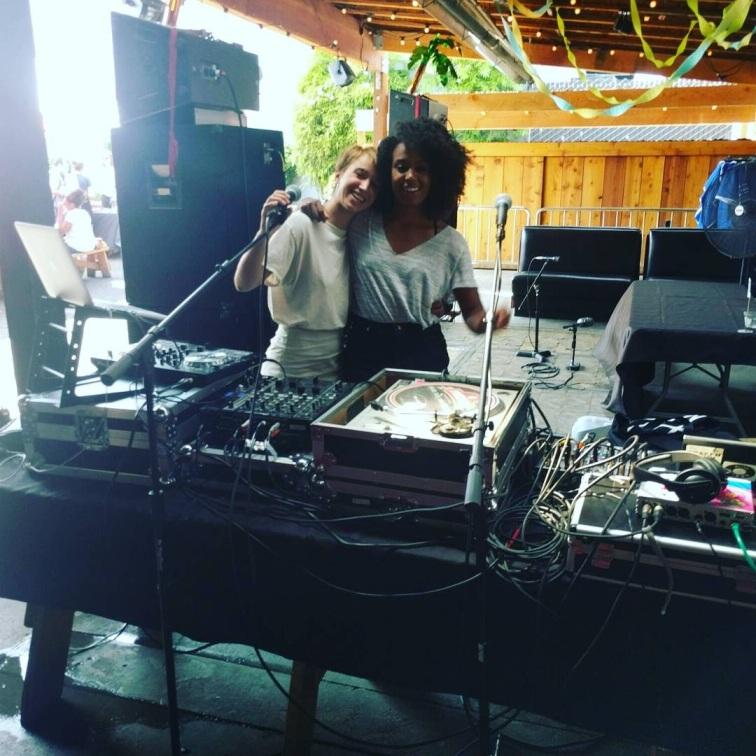 Jené and Shira of XRAY's Everyday Mixtapes.