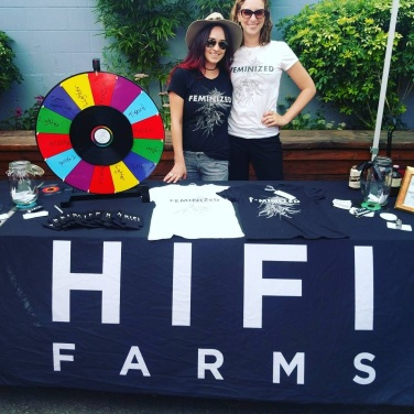 Our awesome sponsors and friends from Hifi Farm, a clean-green cannabis company.