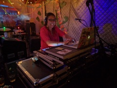 DJ Anjali of XRAY's Chor Bazaar