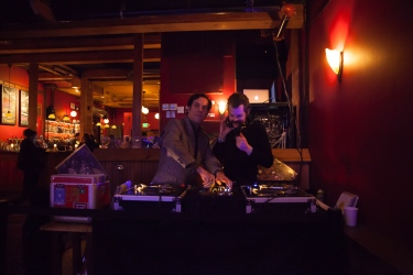 DJs from XRAY's Ballin' the Jack. Photo by Chitra Subrahmanyam
